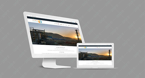 طراحی-سایت-شرکت-روغن طلائی-احیا