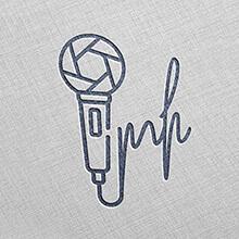 نمونه کار طراحی لوگو تلفیقی مصطفی هاشمی