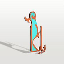 نمونه کار طراحی لوگو تلفیقی رایکا