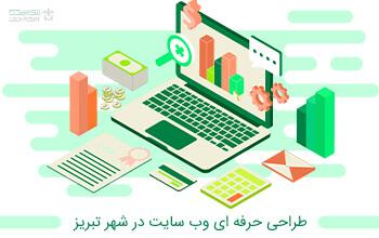 طراحی حرفه ای وب سایت در شهر تبریز
