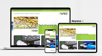 طراحی سایت دایانو