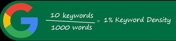 فرمول استفاده از کلمات کلیدی