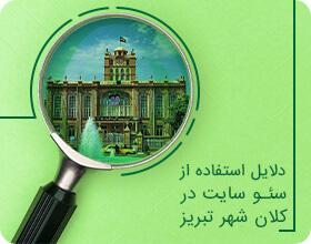 دلایل استفاده از سئو سایت در کلان شهر تبریز